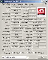 Connect 3D GPU-Z