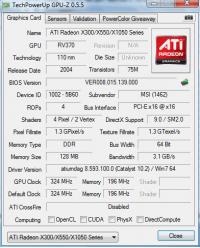 MSI RX300HM-TD128E GPUZ